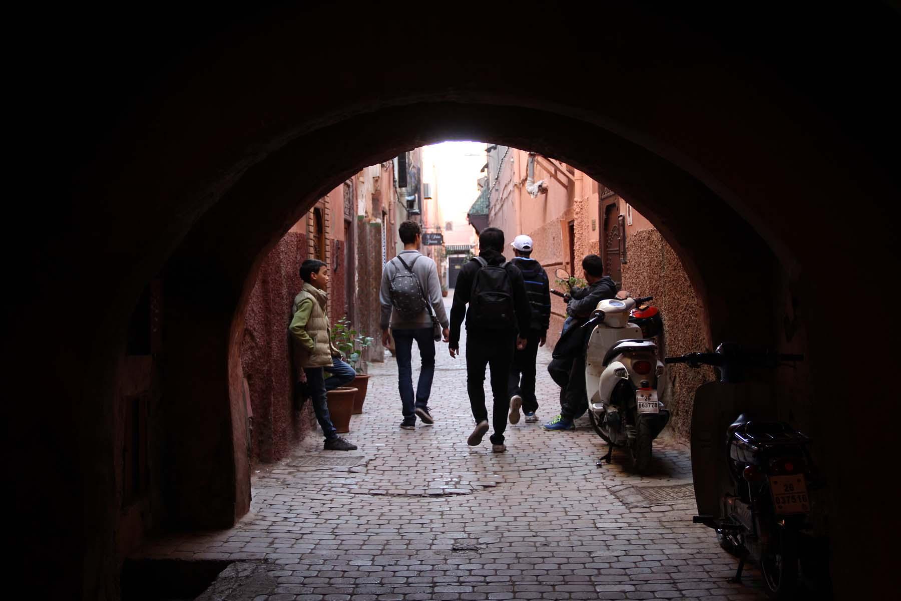 Un arco a Marrakech