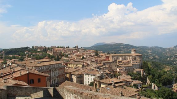 View of Perugia