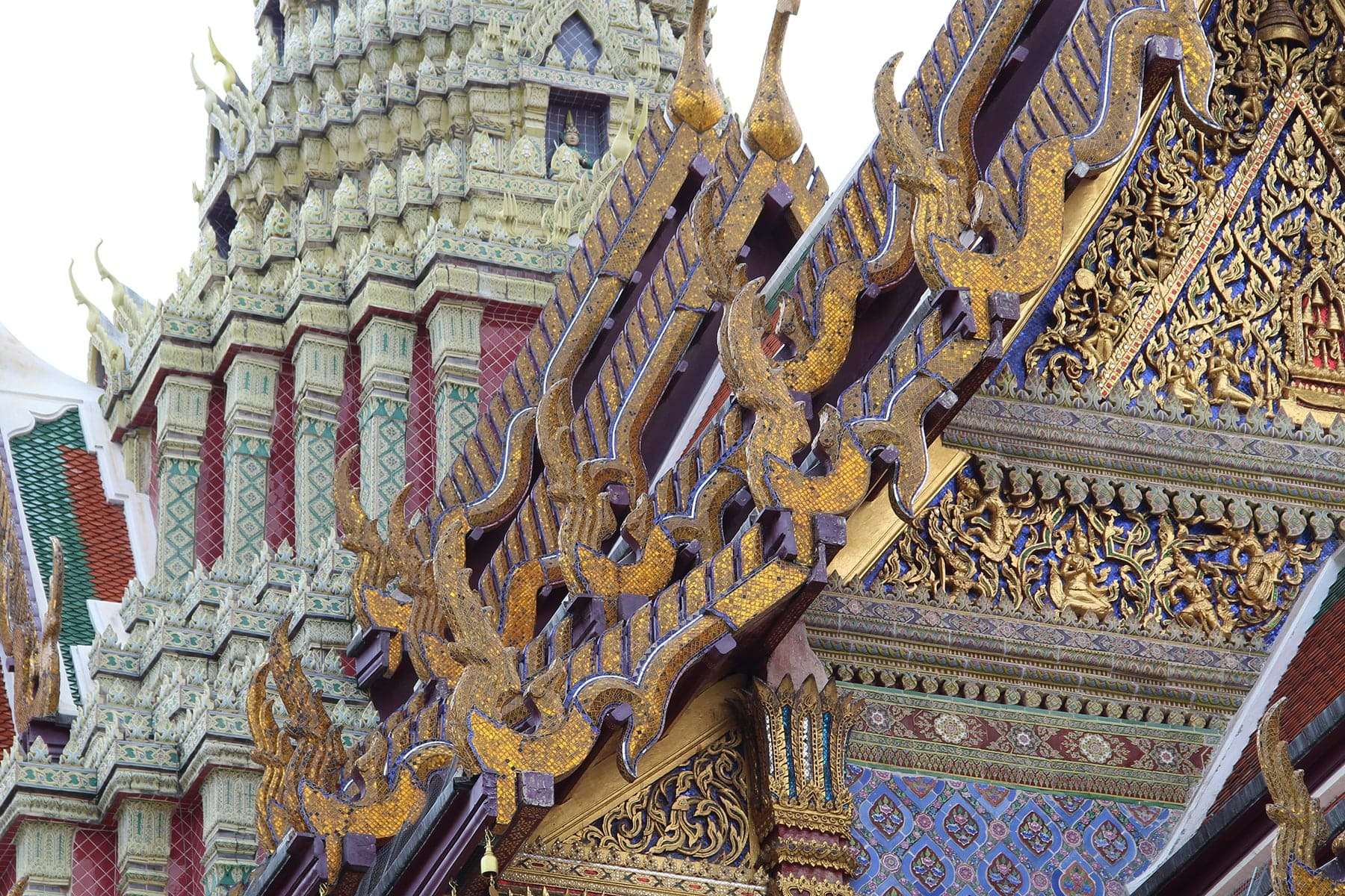 roofs royal palace bangkok