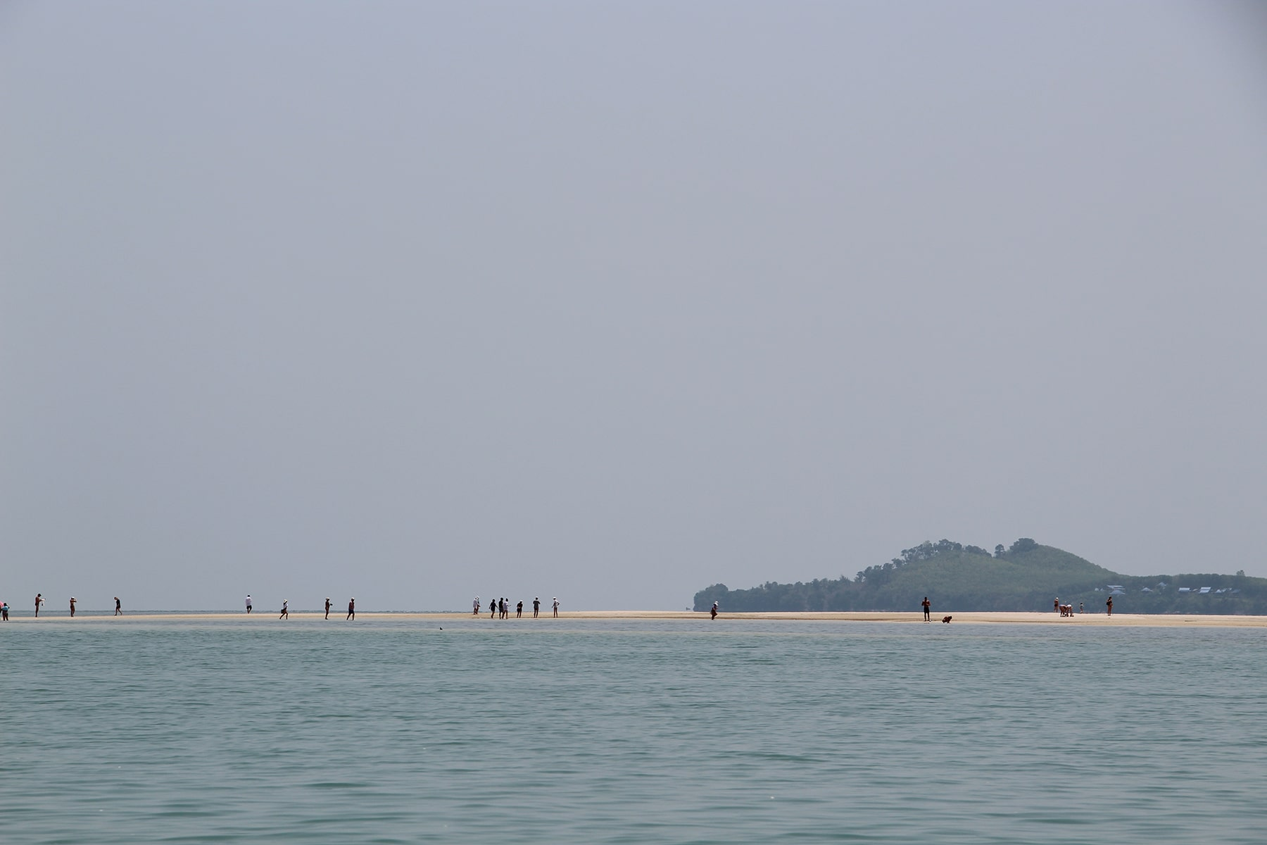 Hua Lam Laad Beach view