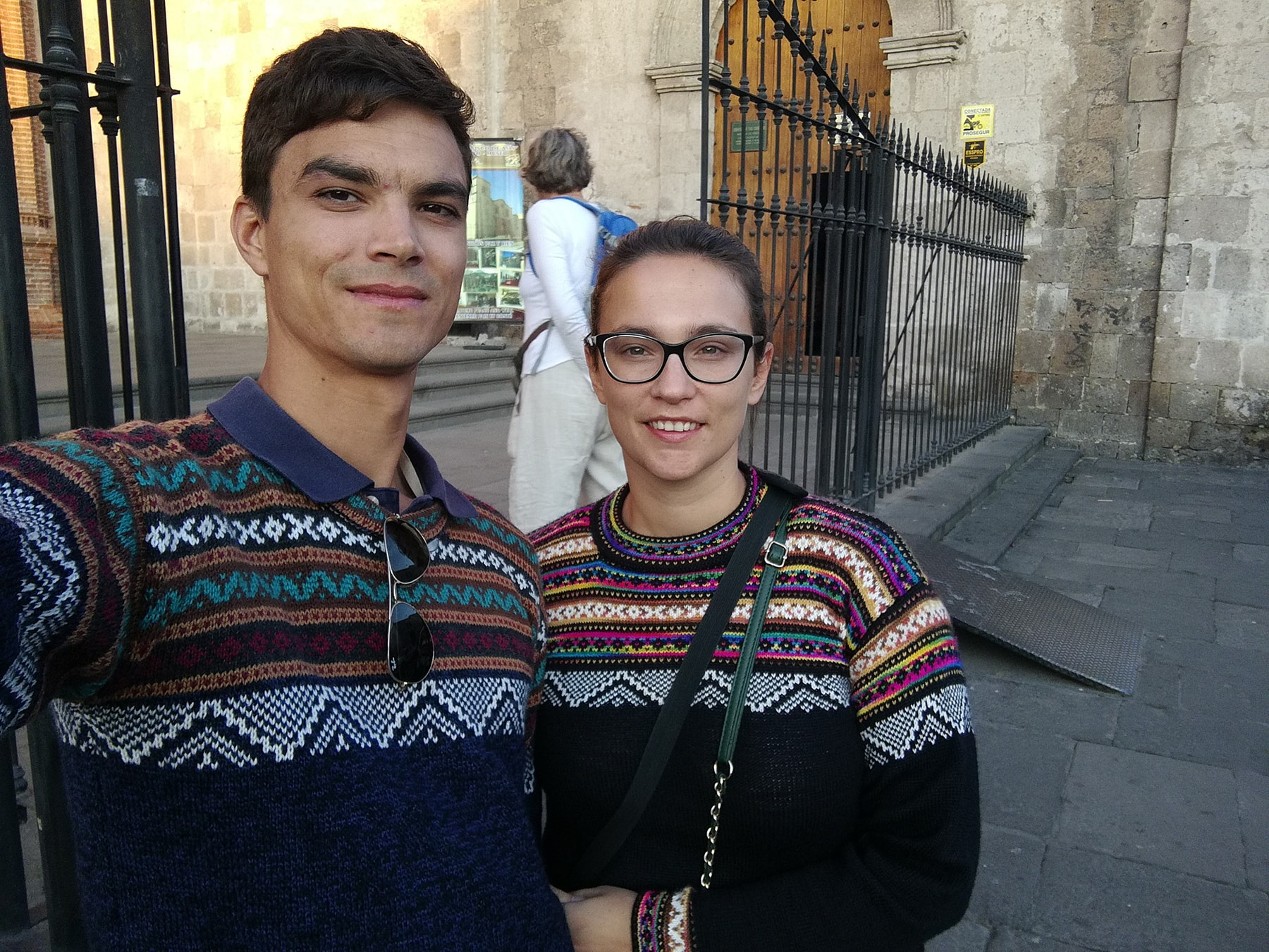 Peruvian alpaca sweaters