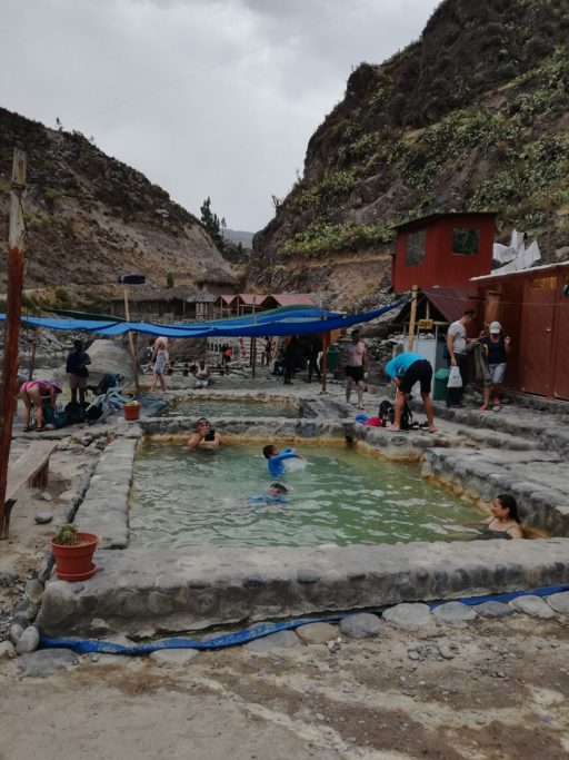 Thermal baths hot springs