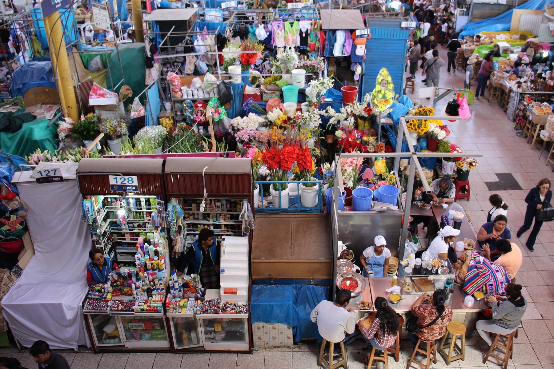 Le marché de San Camilo, Arequipa