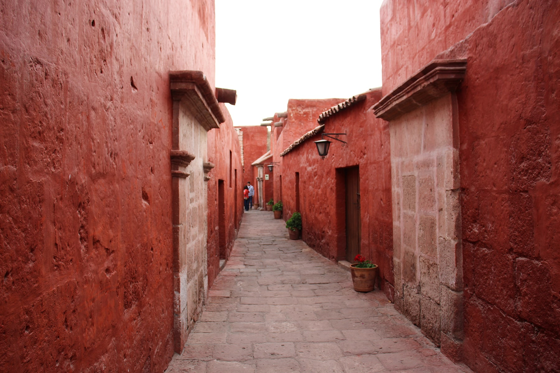 Streets in Monastery of Santa Catalina Arequipa