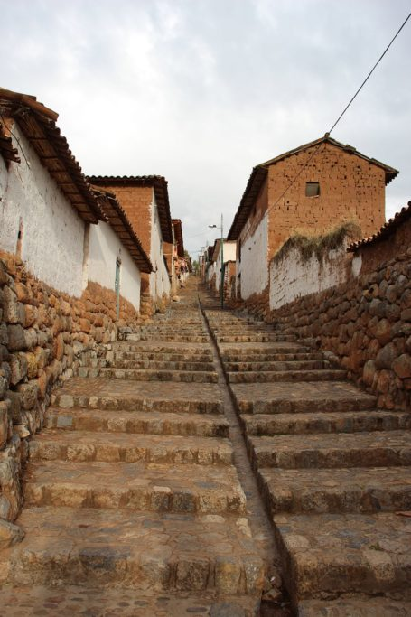A street in Chinchero