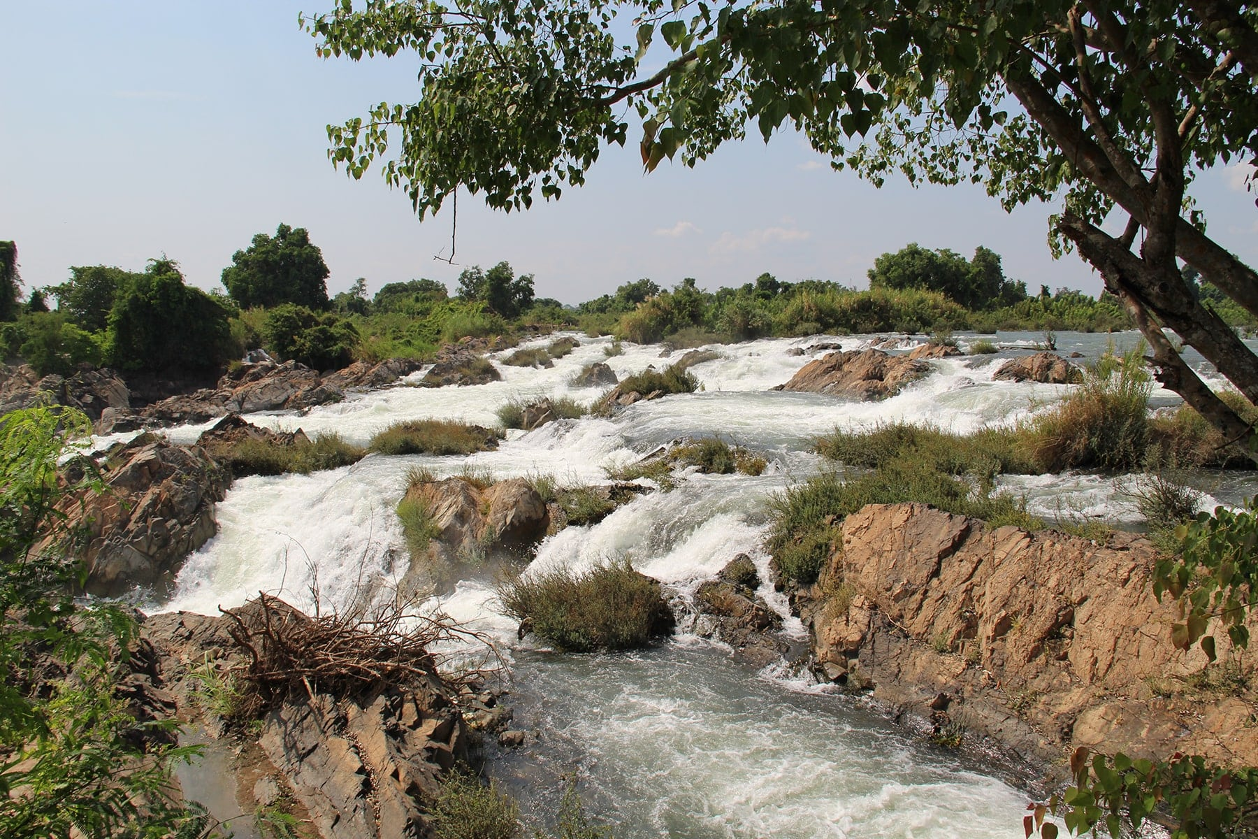 Tat Somphamit rapids Si Phan Don, Laos