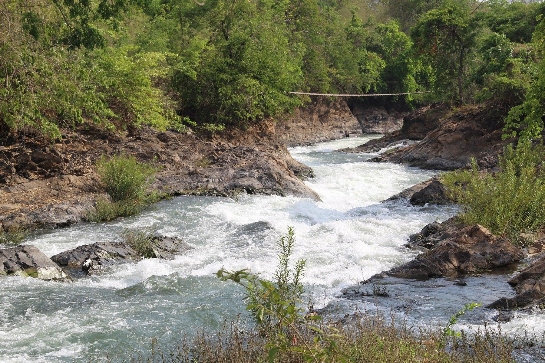 Rapides de Khong Pa Soi, Si Phan Don, Laos