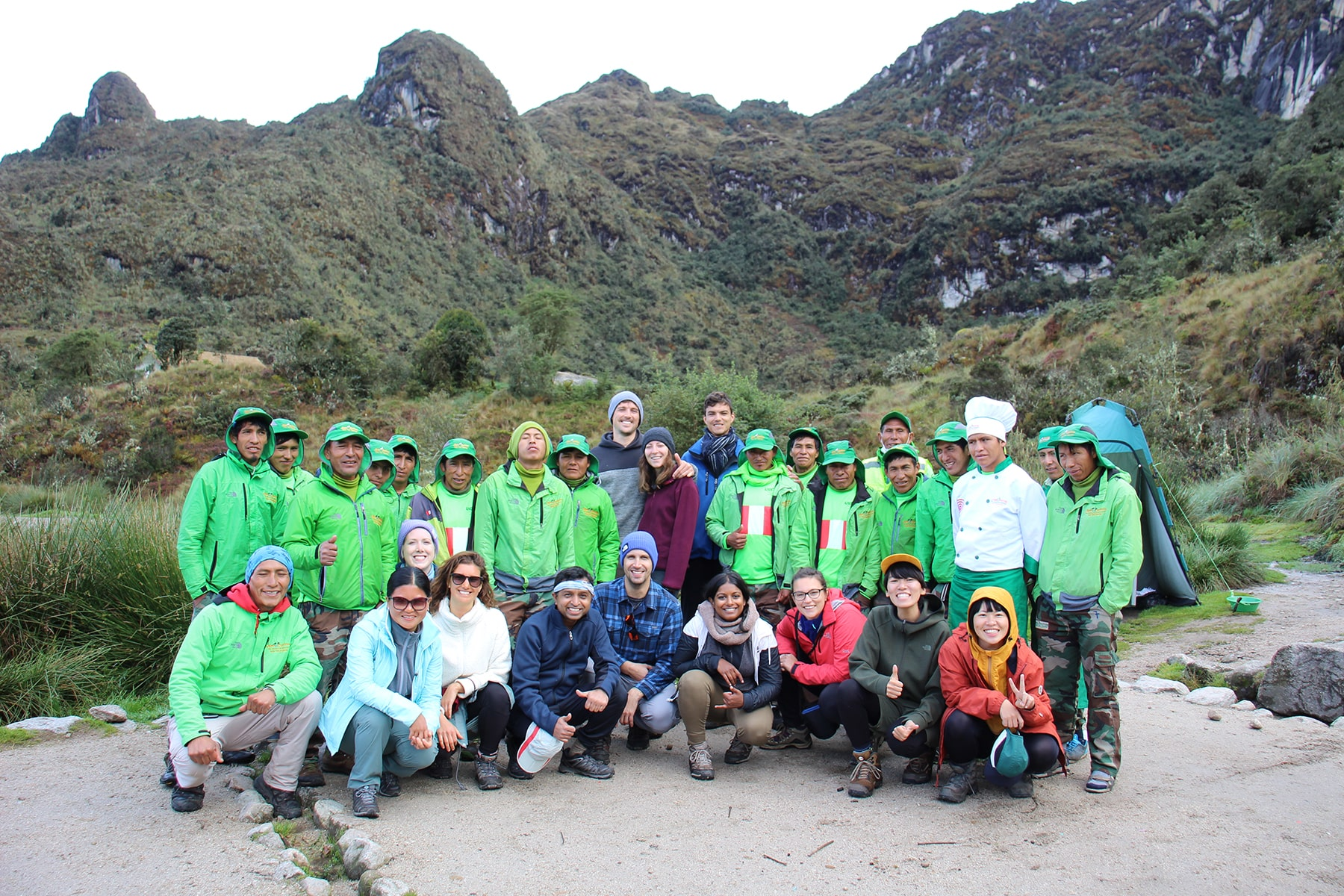 Our group on inca trail
