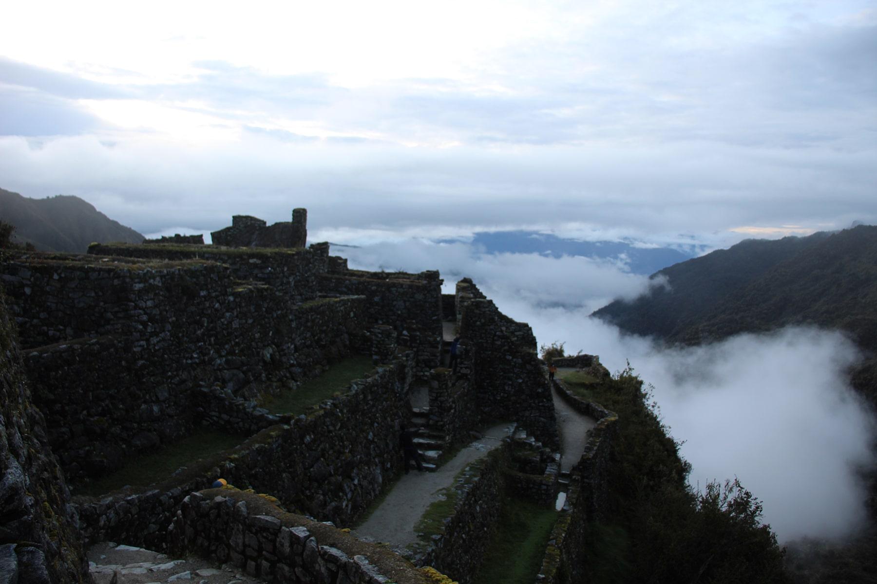 Il sito di Sayacmarca, Inca Trail
