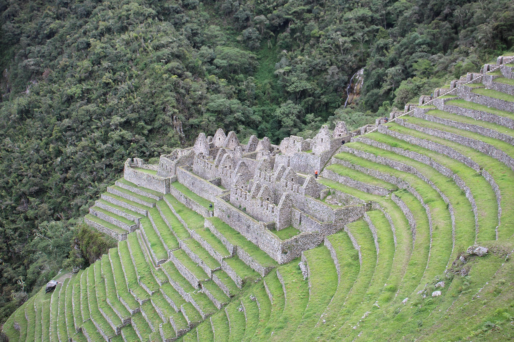 Le site de Wiñai Wayna, Inca Trail