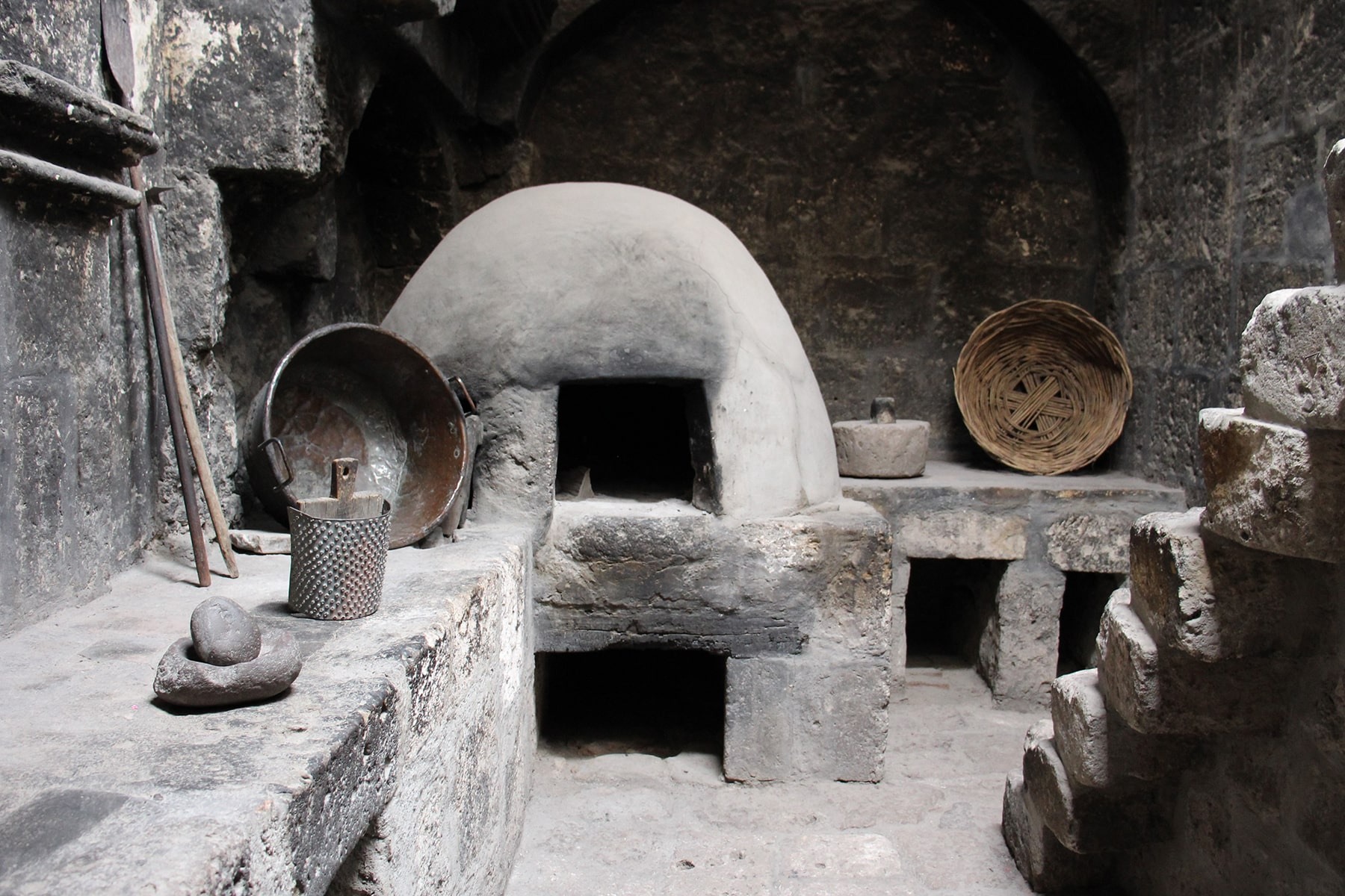A kitchen in the Monastery of Santa Catalina Arequipa