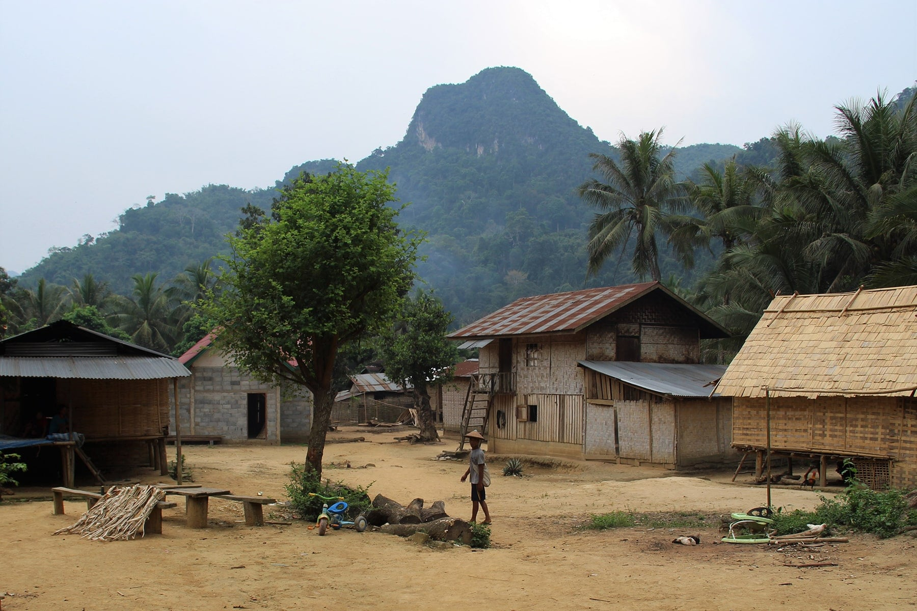 Village of our home stay in Laos