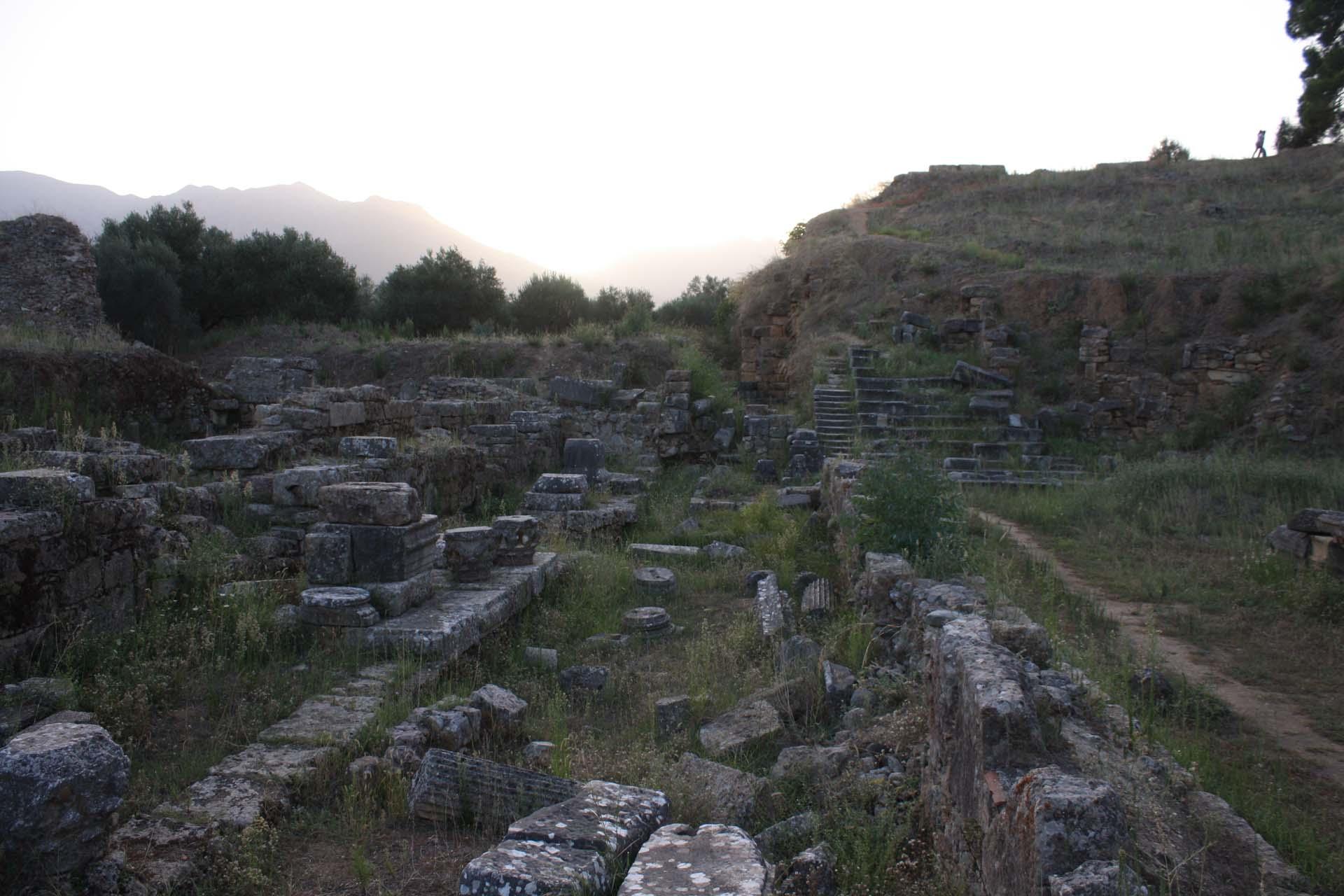 Ruines de la ville antique de Sparte