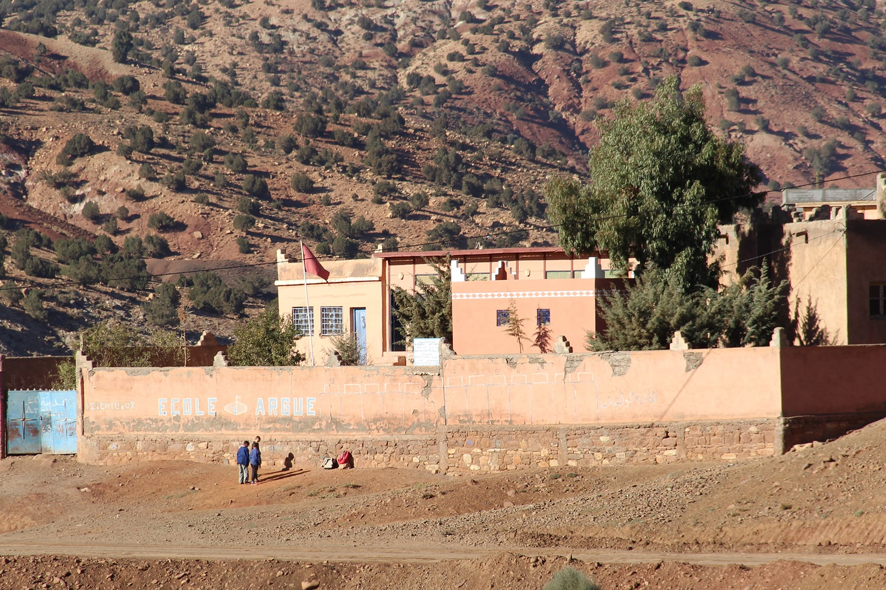 School in High Atlas