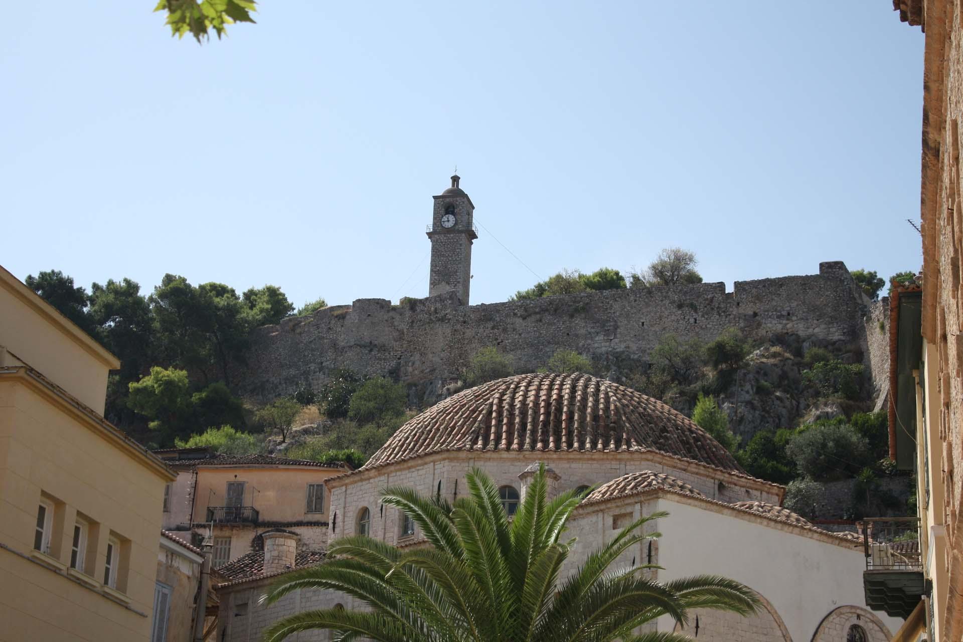 Nafplio Palamidi castle