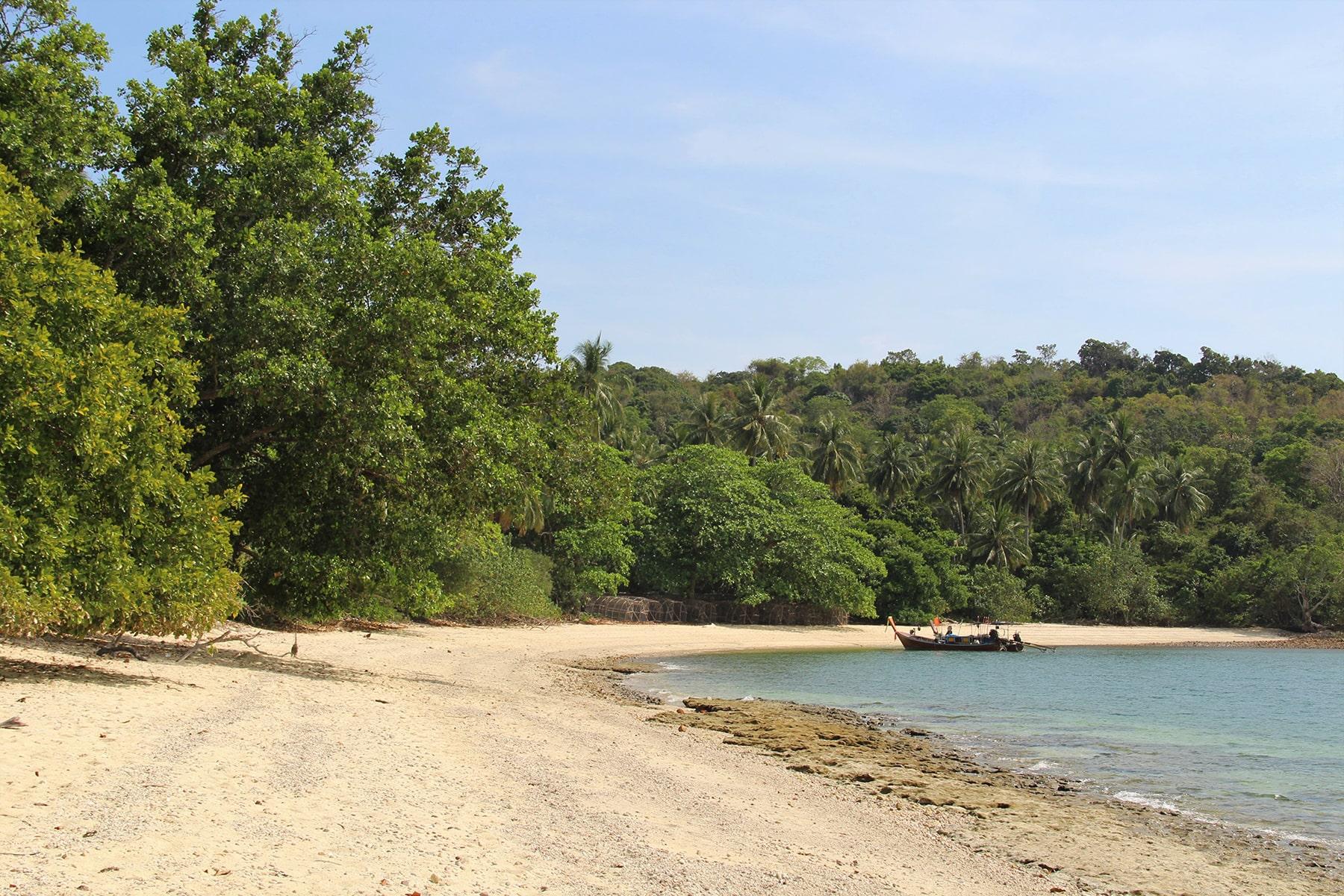 La spiaggia di Ao Muang a Koh Yao Yai