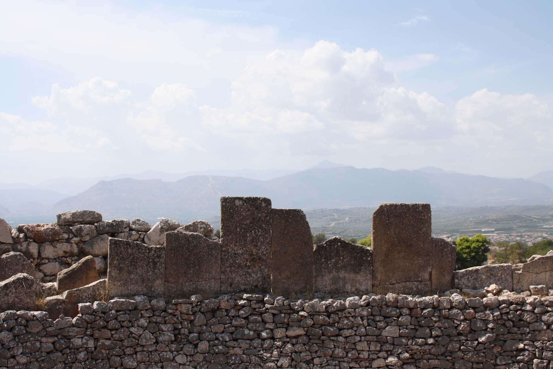 Stele di tombe a Micene