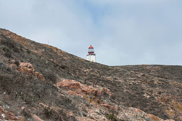 Lighthouse on the Berlengas archipelago