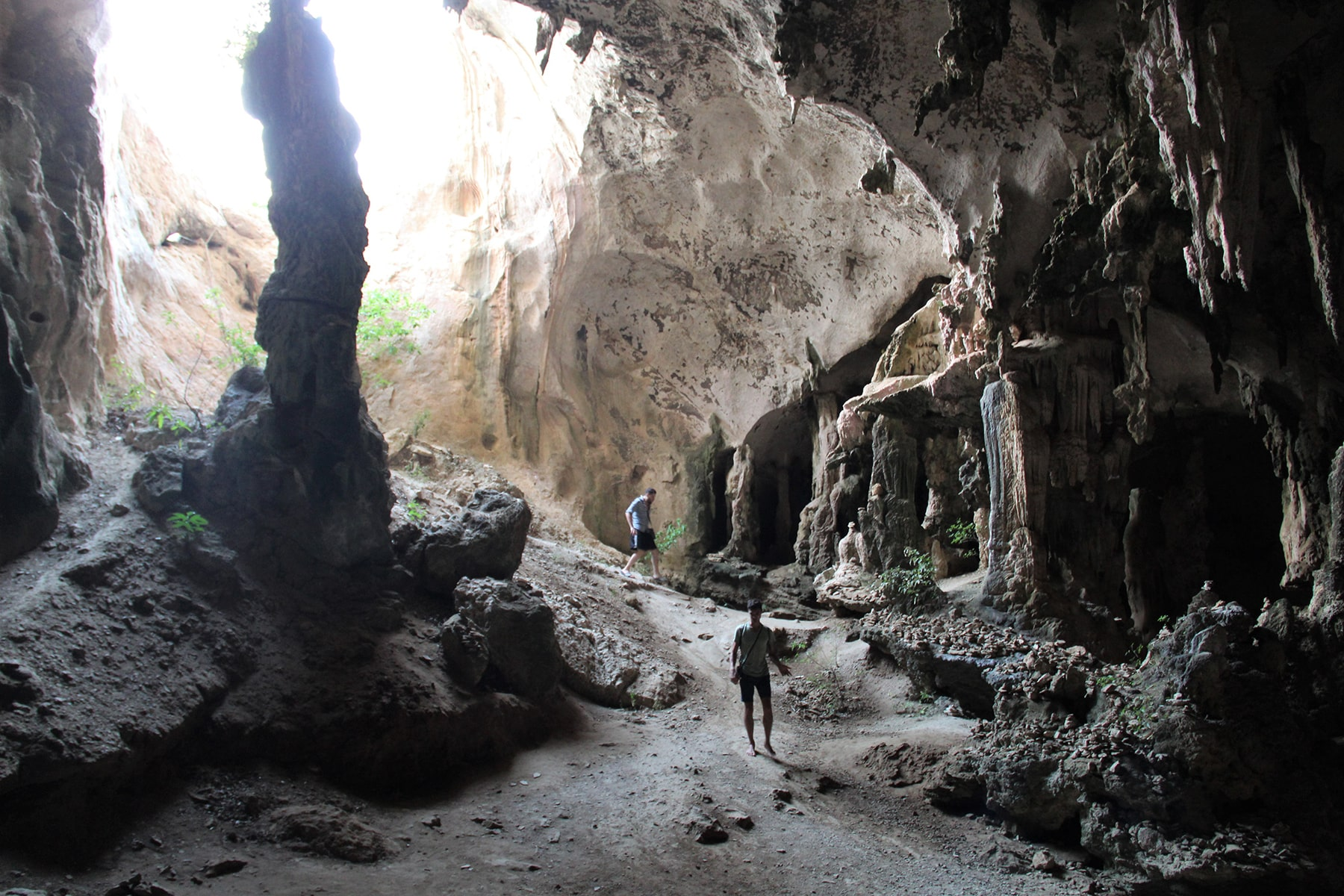 Caves in Krabi national park