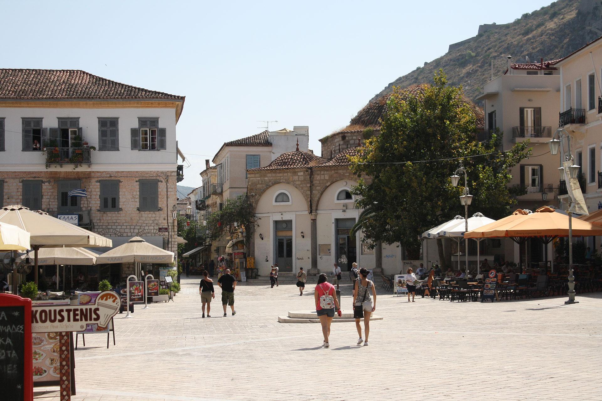 A square in Nafplio