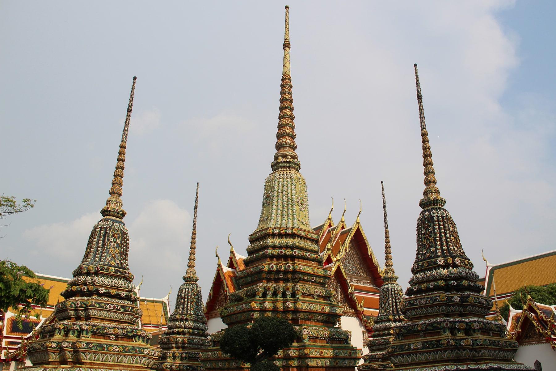 Stupa e templi del complesso di Wat Pho